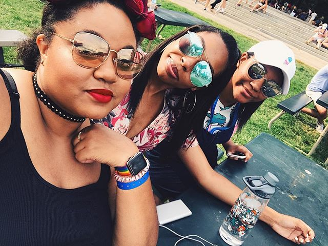 Day 3....We tired today y'all! We ready for Chance tho! . . . . #lollapalooza #lolla #lolla17 #chicago #grantpark #day3