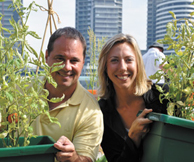 Mercurio visits Docklands' garden DOCKLANDS NEWS