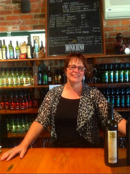 Meeting Anna Monichino at her family run winery in the Goulburn Valley.