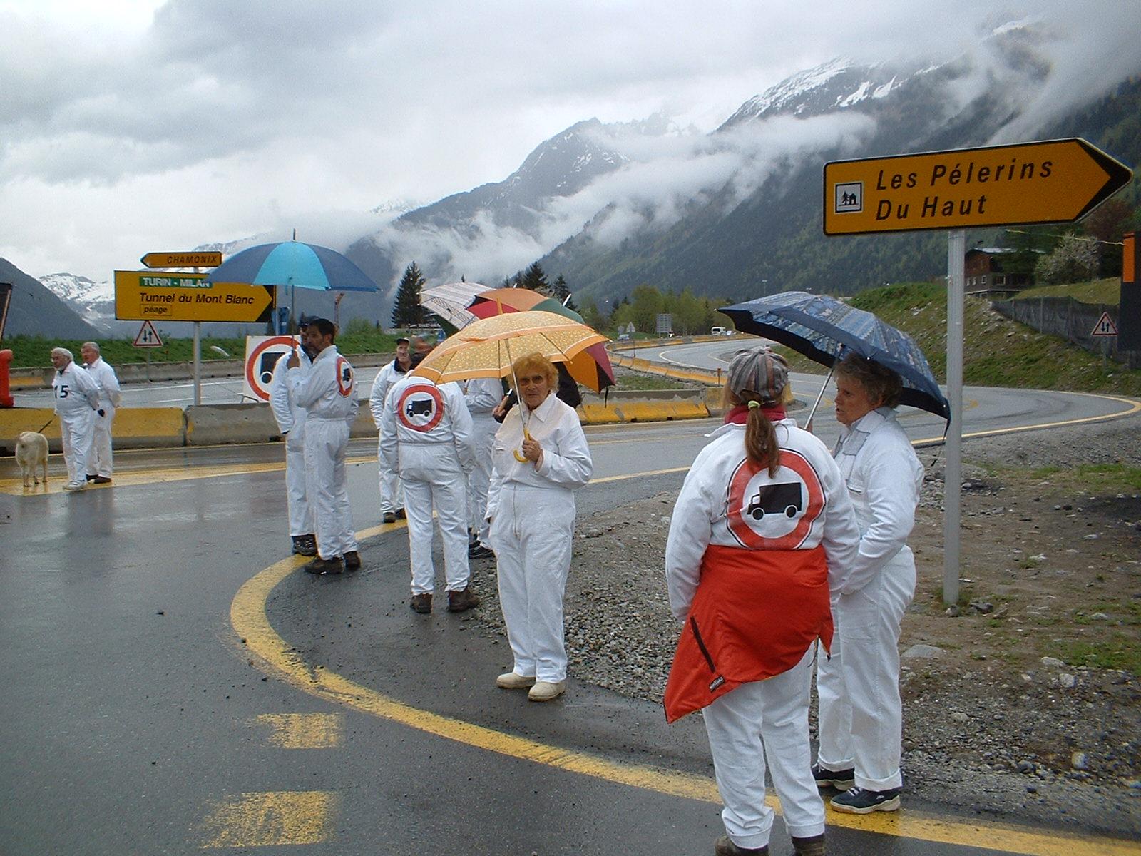 Avril 2003, La Vigie, qu'il pleuve, qu'il neige ou qu'il vente