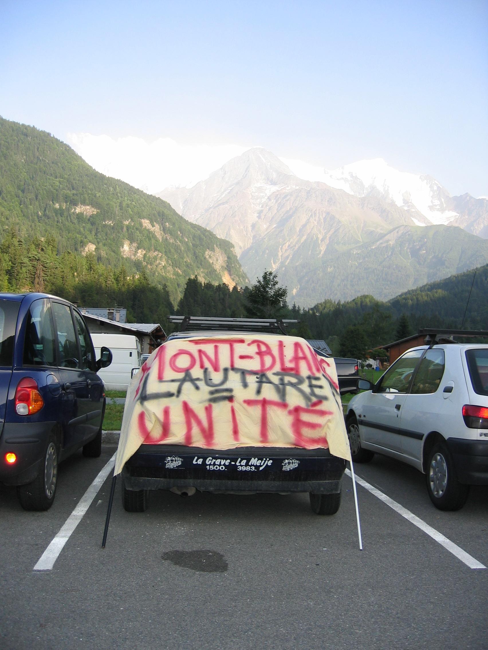 Les passages alpins unis dans l'adversité