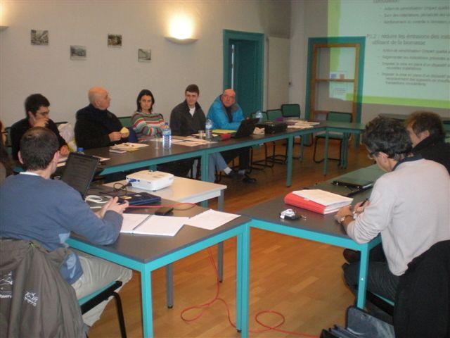 2010-2011, phase d'écriture du Plan de Protection de la vallée de l'Arve