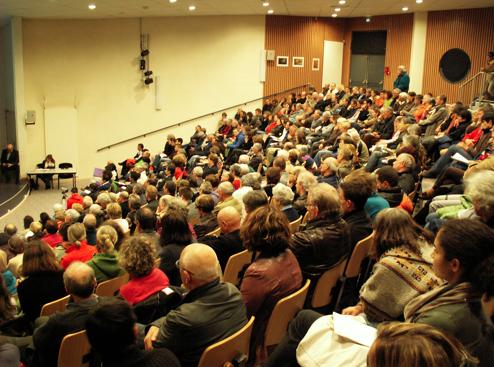 20 mars 2012, table ronde Qualité de l'air, Passy