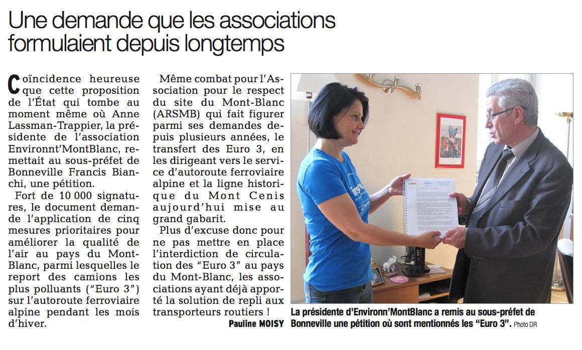 Le Dauphiné Libéré – 29 mai 2014