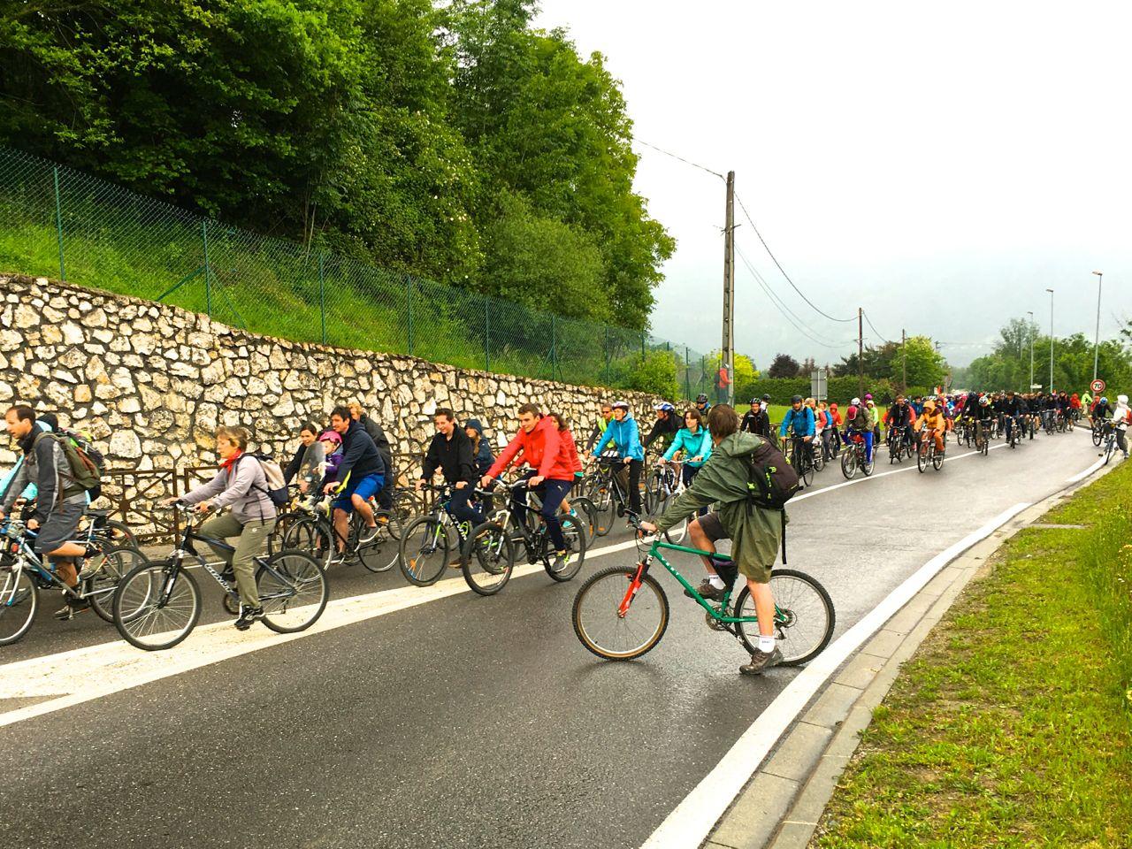 500 participants à l'action Vélorution'Air