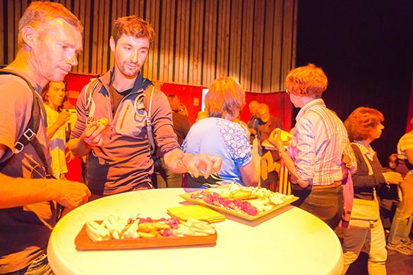 Le buffet gourmand, bio et local de Christine Belleville