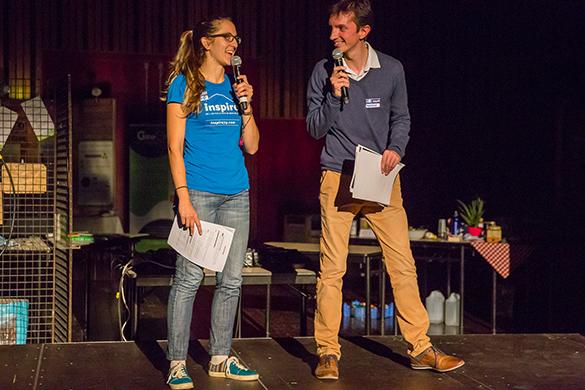 Ludivine Thiburs, vice-présidente d'Inspire et organisatrice de l'avant-première