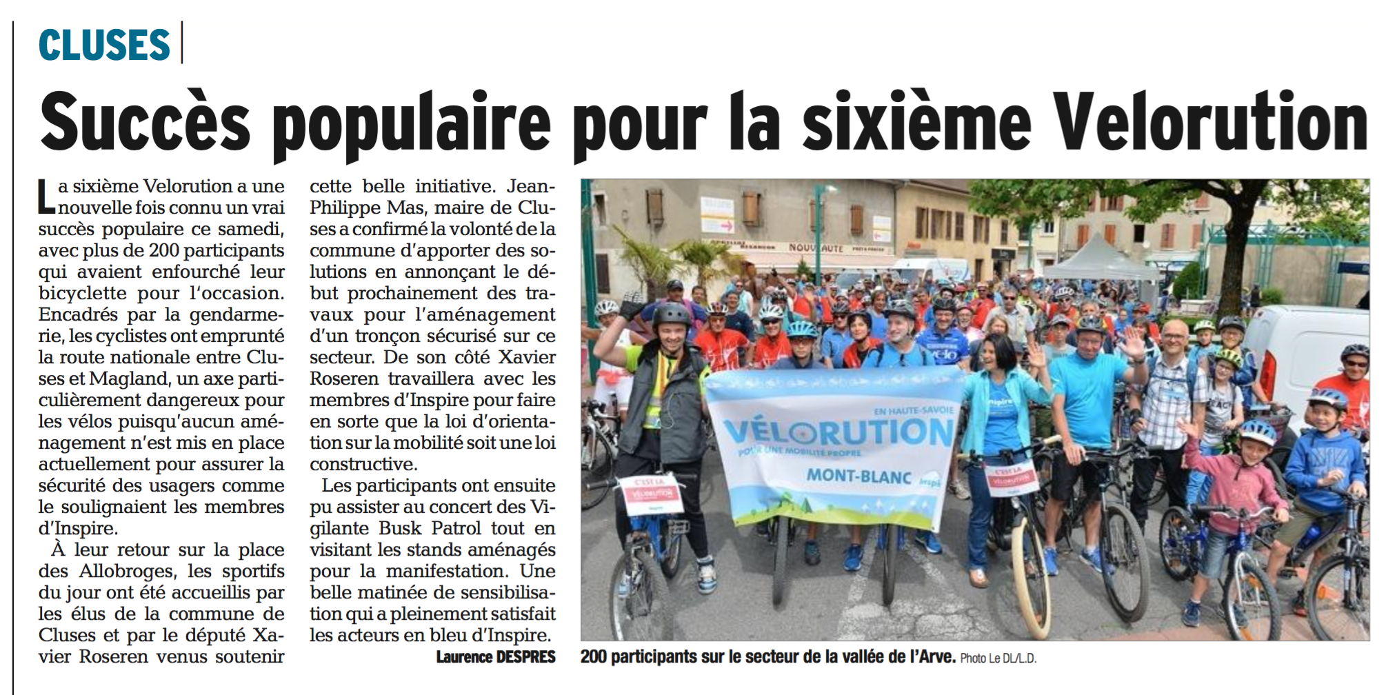 Le Dauphiné Libéré 29 mai 2018