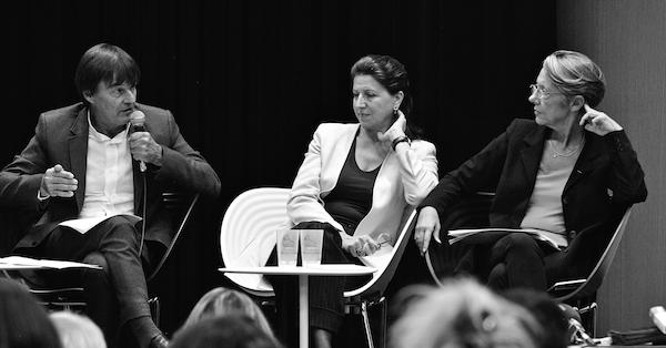Chamonix, 29 sept. 2017, Nicolas Hulot, Agnès Byzin, Elisabeth Borne