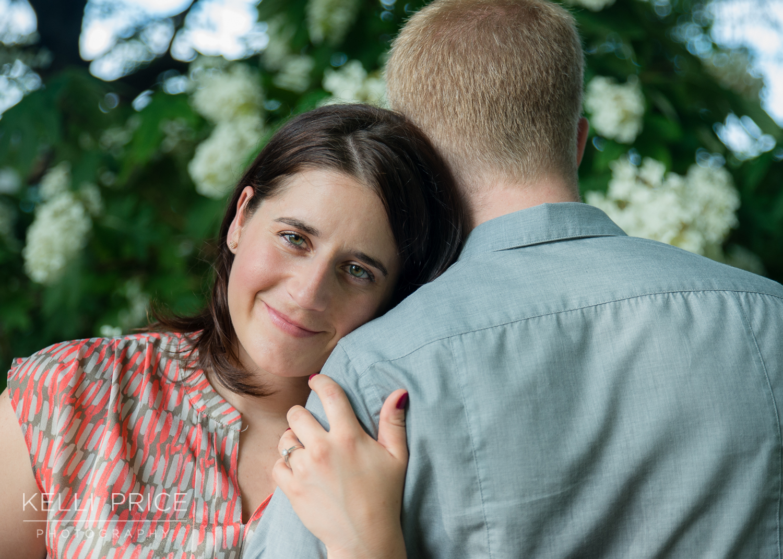 Engagement Session at Piedmont Park, Atlanta - Engagement Ring