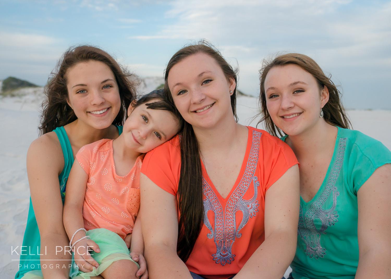 Sisters at Destin Beach