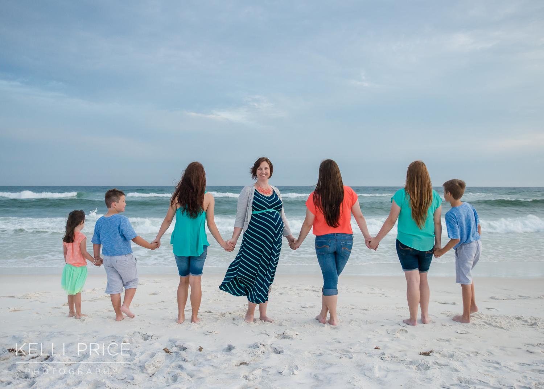 Maternity & Family Session at Destin Beach