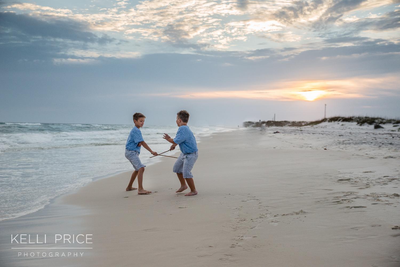 Boys being boys - Destin Beach