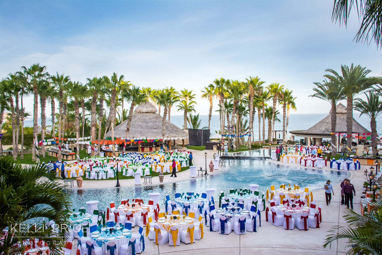 Farewell Party at Hilton Los Cabos, Mexico
