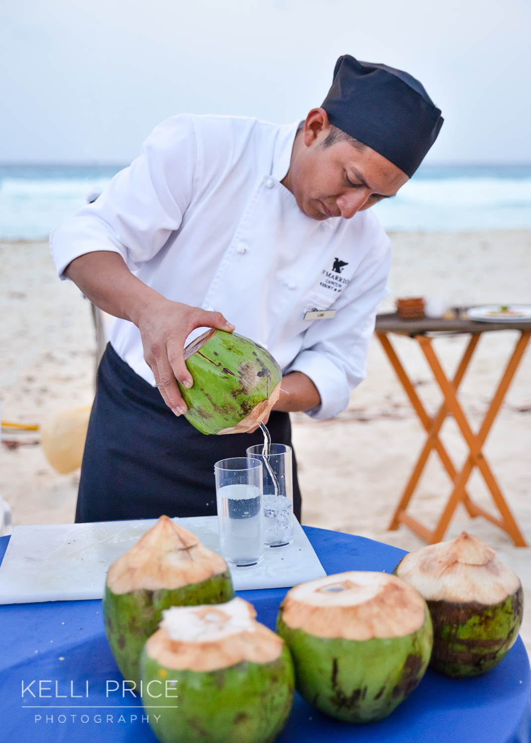 Welcome Reception Drink Service at JW Marriott - Cancun, Mexico