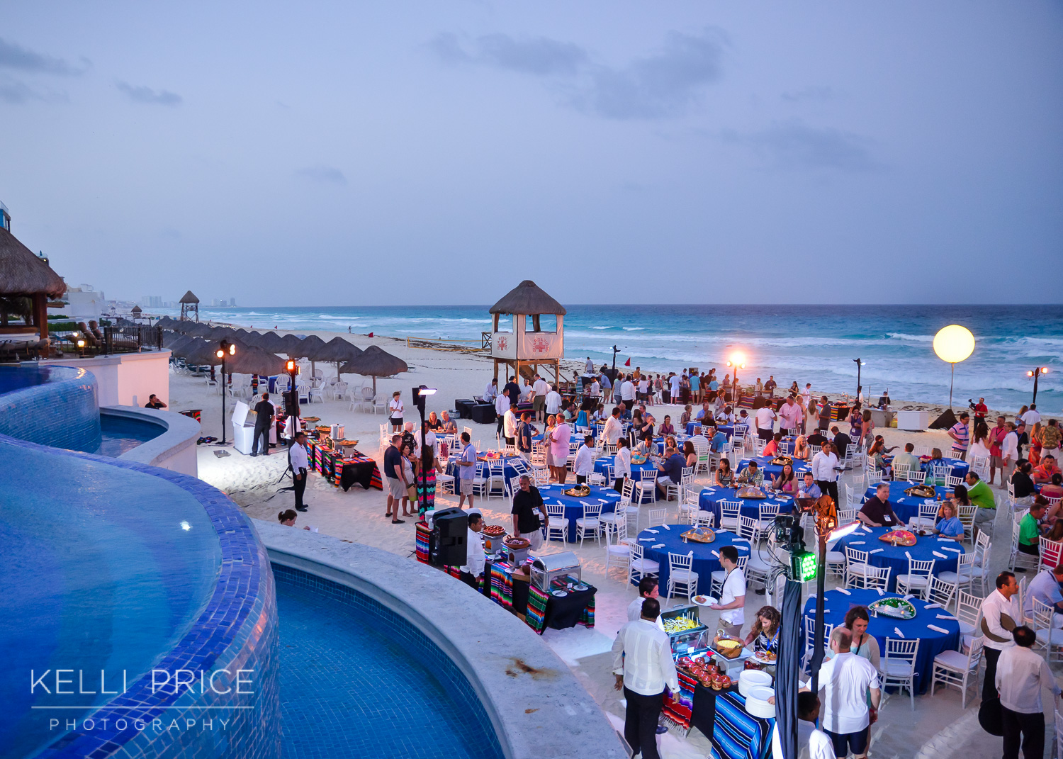 Welcome Recption at JW Marriott - Cancun, Mexico