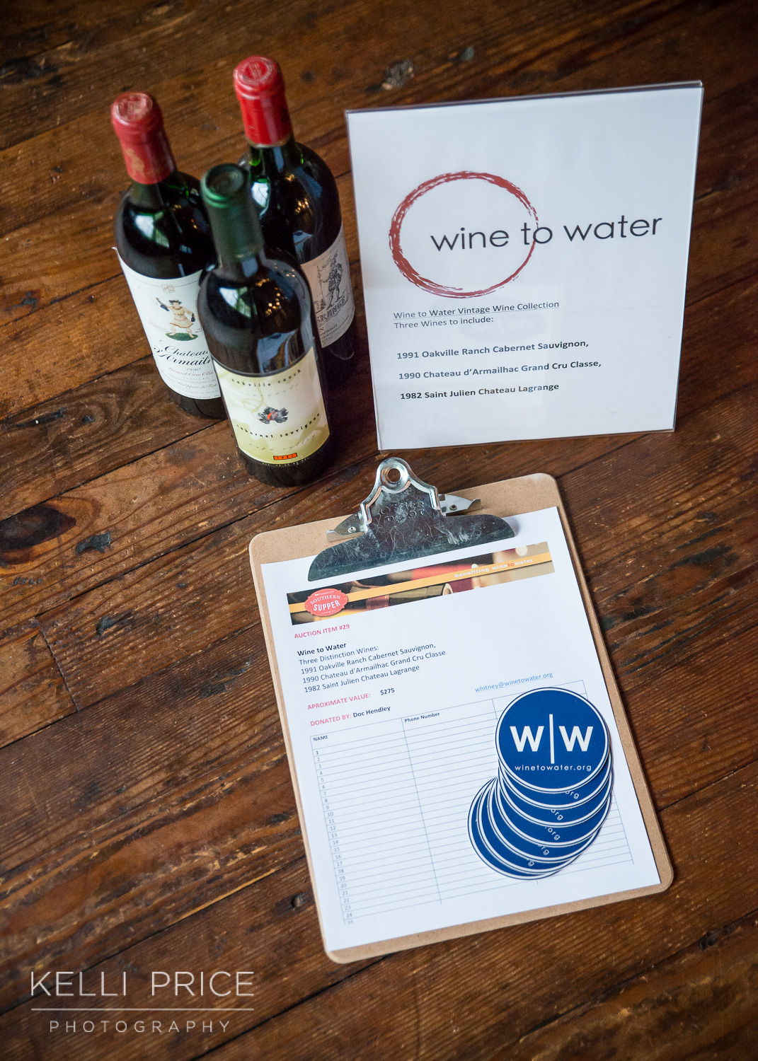 SITE Southern Supper with Wine to Water at Summerour Studio, Atlanta