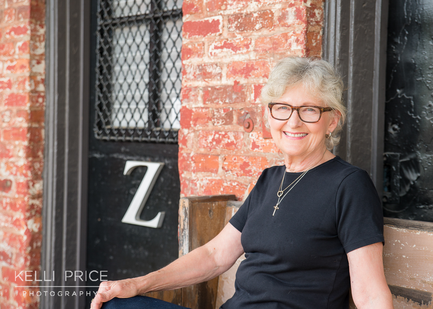 Cathy outside her studio, Studio Z. Click on the image to learn more about Cathy.
