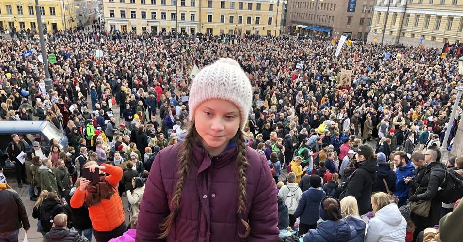 Photo of Greta Thunberg by Common Dreams
