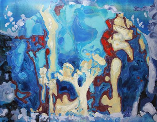 Lichen in Blues