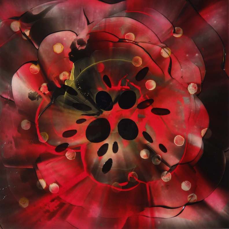 Poppies and Pearls 2