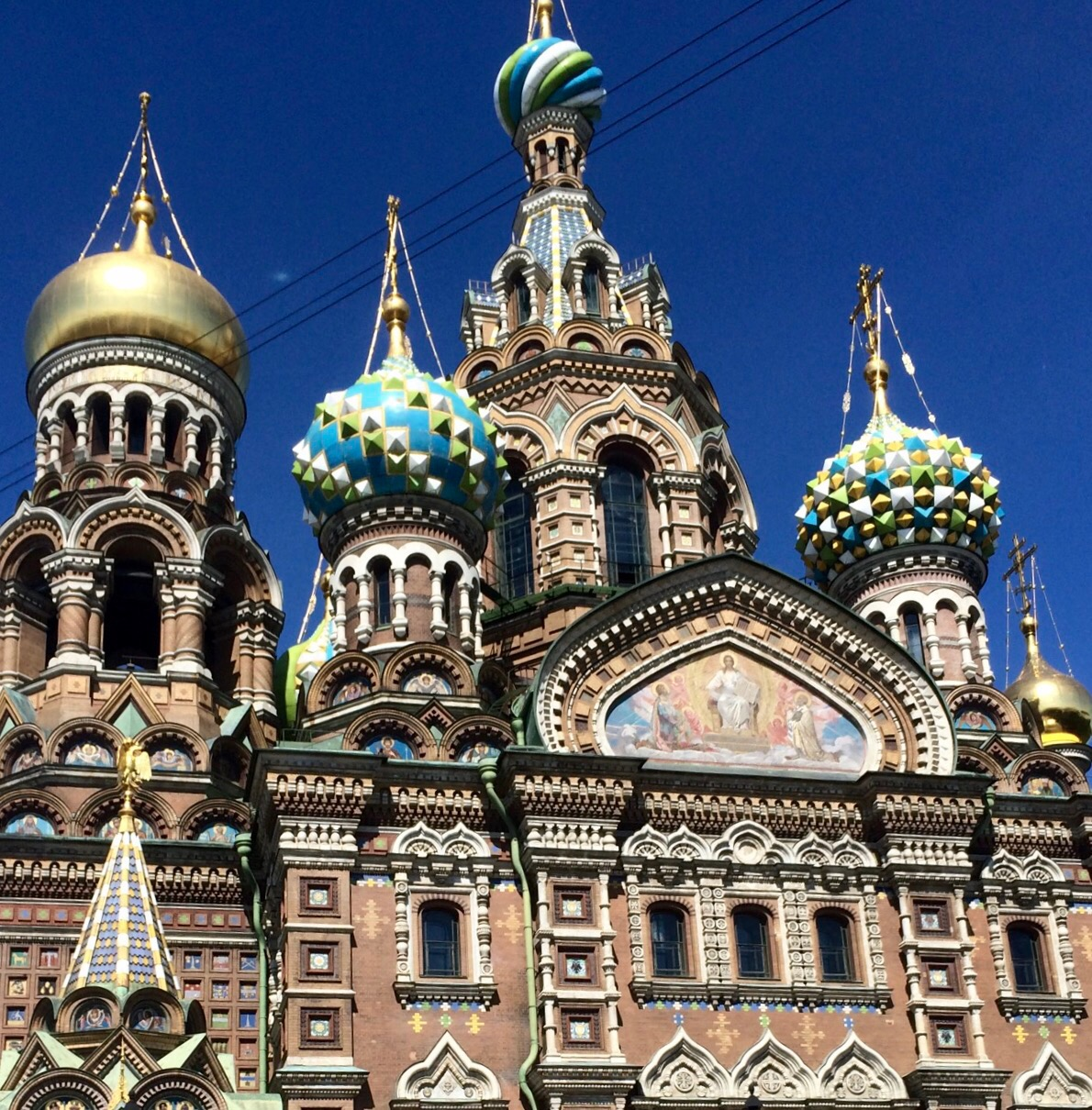 St. Petersburg -Venice of the north and amazing in size and grandeur. Breathtaking  and light throughout the night.