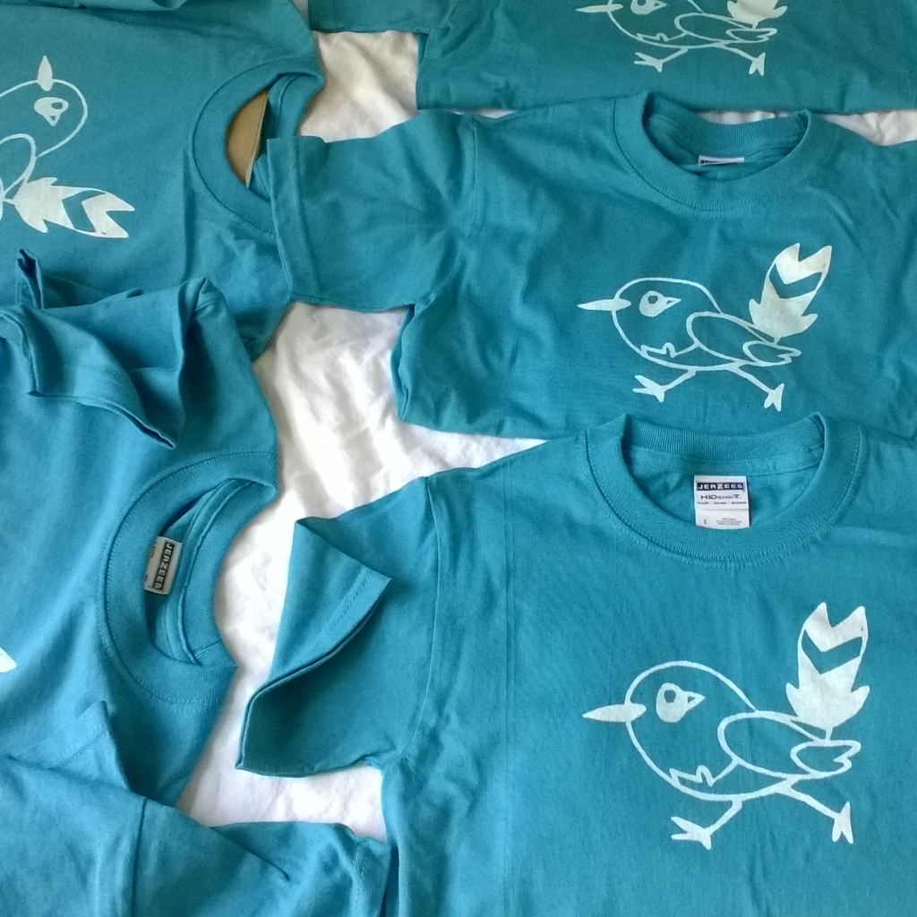 Kendra Shedenhelm_Pokemon_Fletchling_DIY_Tshirts_Finished