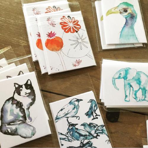 Kendra Shedenhelm, Greeting cards for Sunshine & Clover, Croton on Hudson, NY