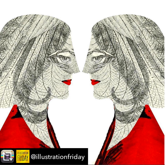 Kendra Shedenhelm_TWINS_Illustration Friday_Collage