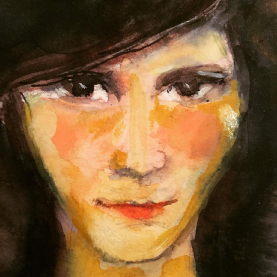 Kendra Shedenhelm_Watercolor_Faces4