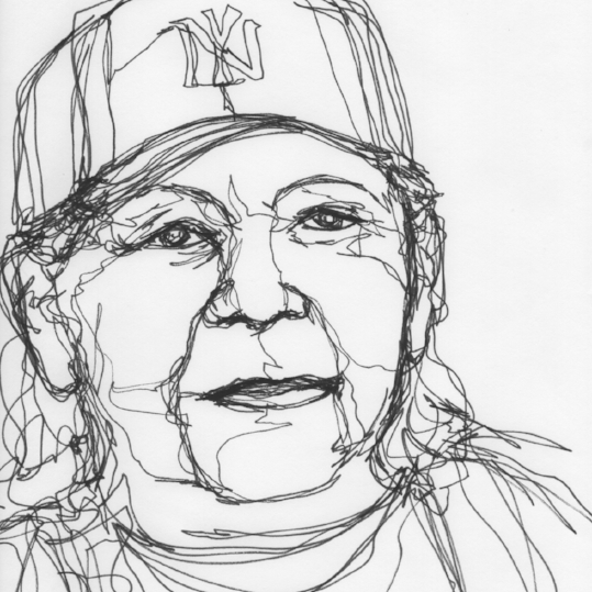 Kendra Shedenhelm_Continuous Line Drawing_NursingHome_Portrait1