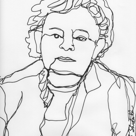 Kendra Shedenhelm_Continuous Line Drawings_Portraits_3