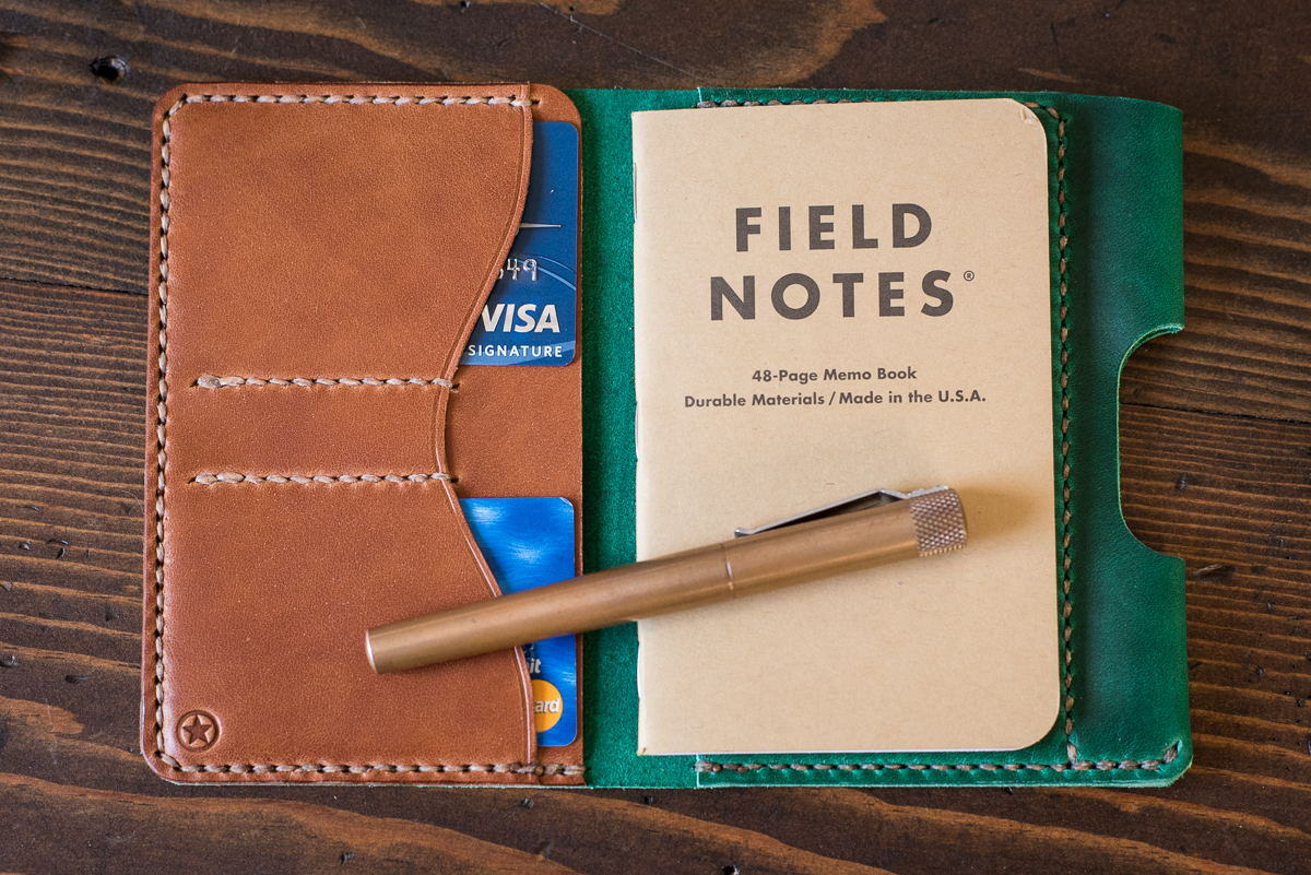 THE PARK SLOPER  wallet / notebook / pen, three sizes