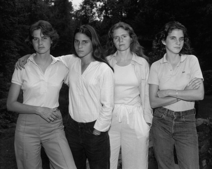 The Brown Sisters , 1975. Nicholas Nixon.