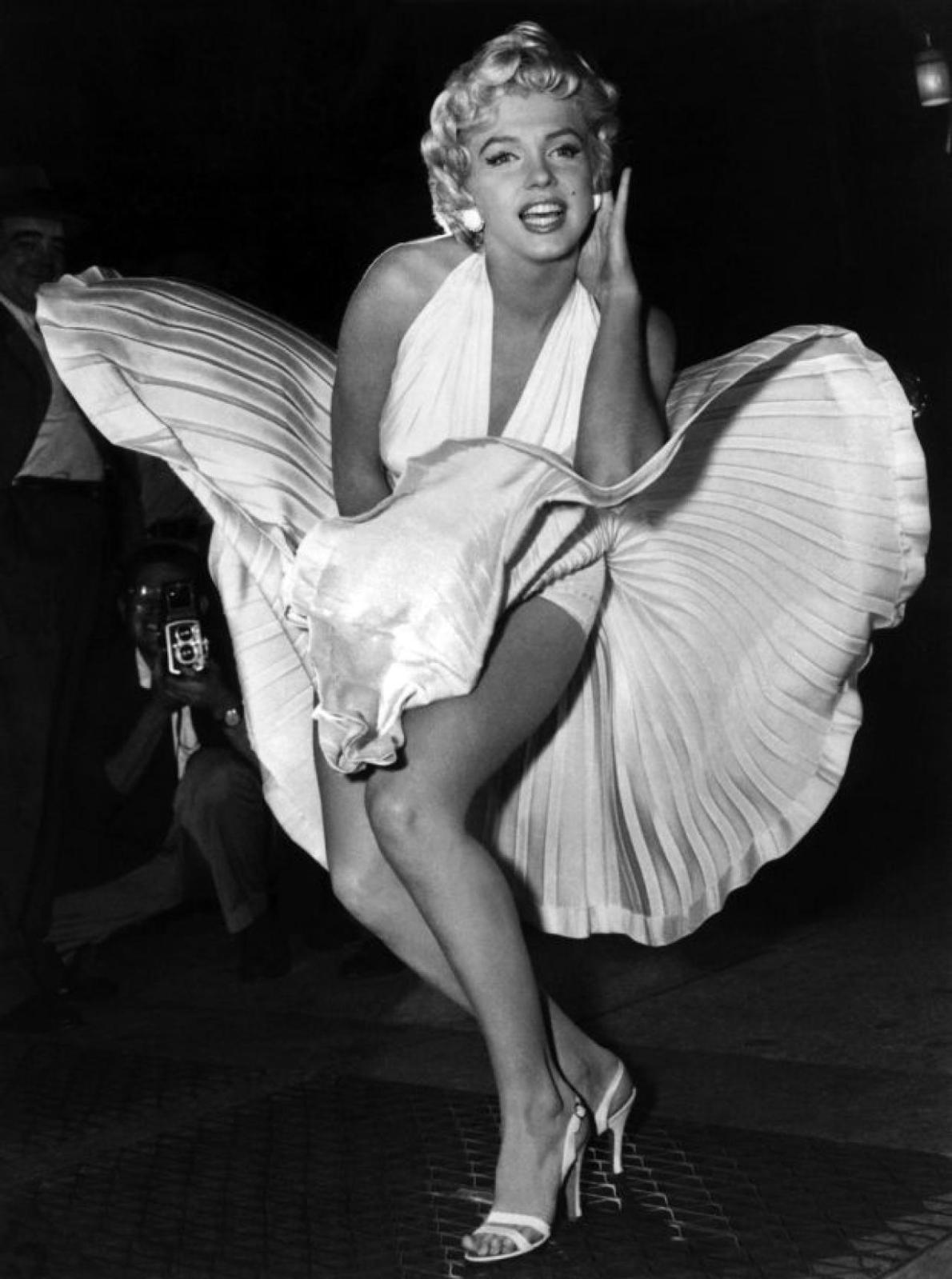 Publicity still for  The Seven Year Itch , by Sam Shaw.
