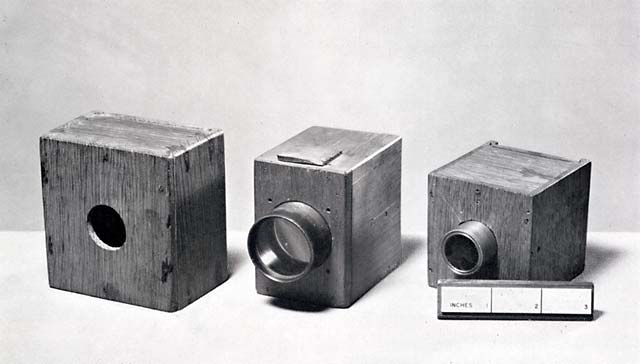 Fox Talbot's cameras, collection of the National Museum of Photography, Film and Television