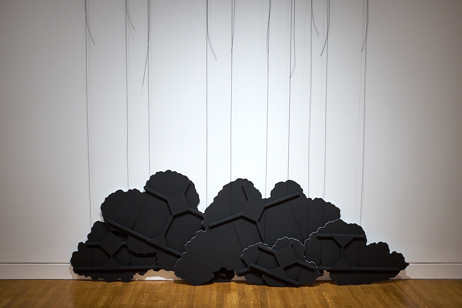 Latifa Echakhch,  Untitled (Black Cloud) IV