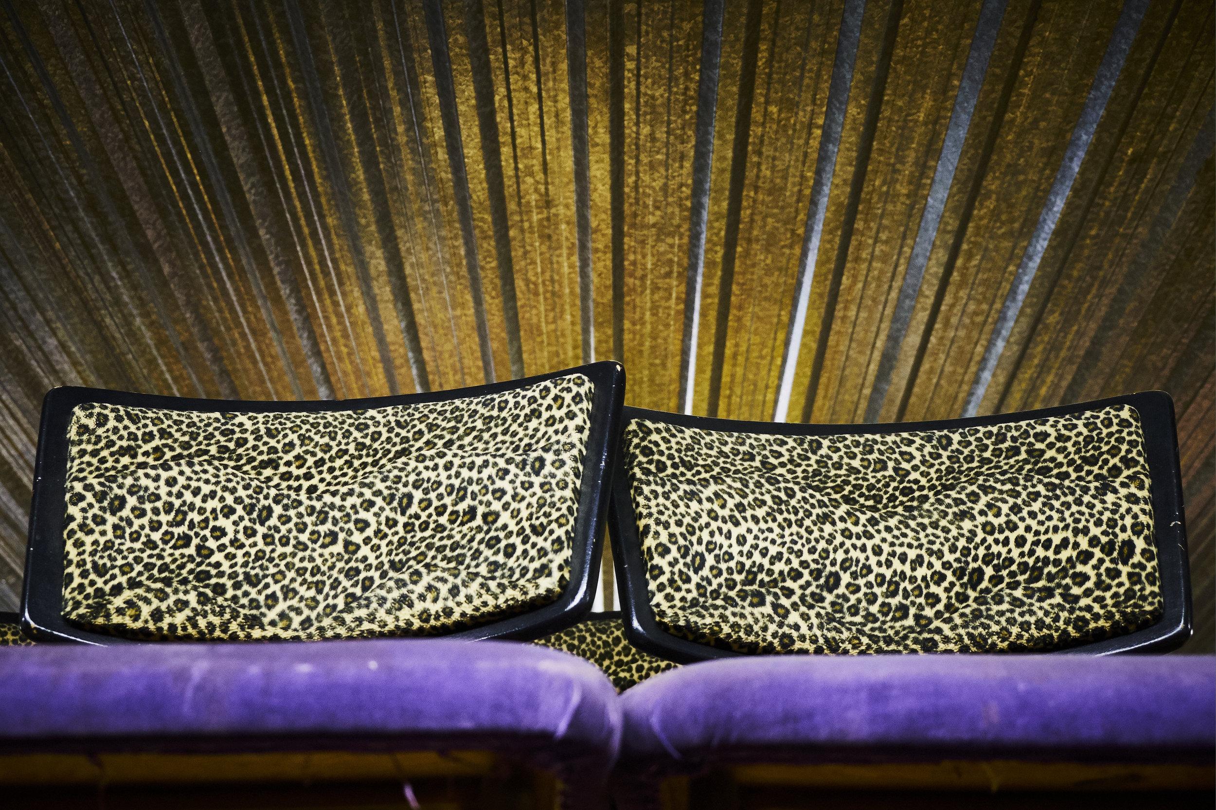 Leopard and velvet