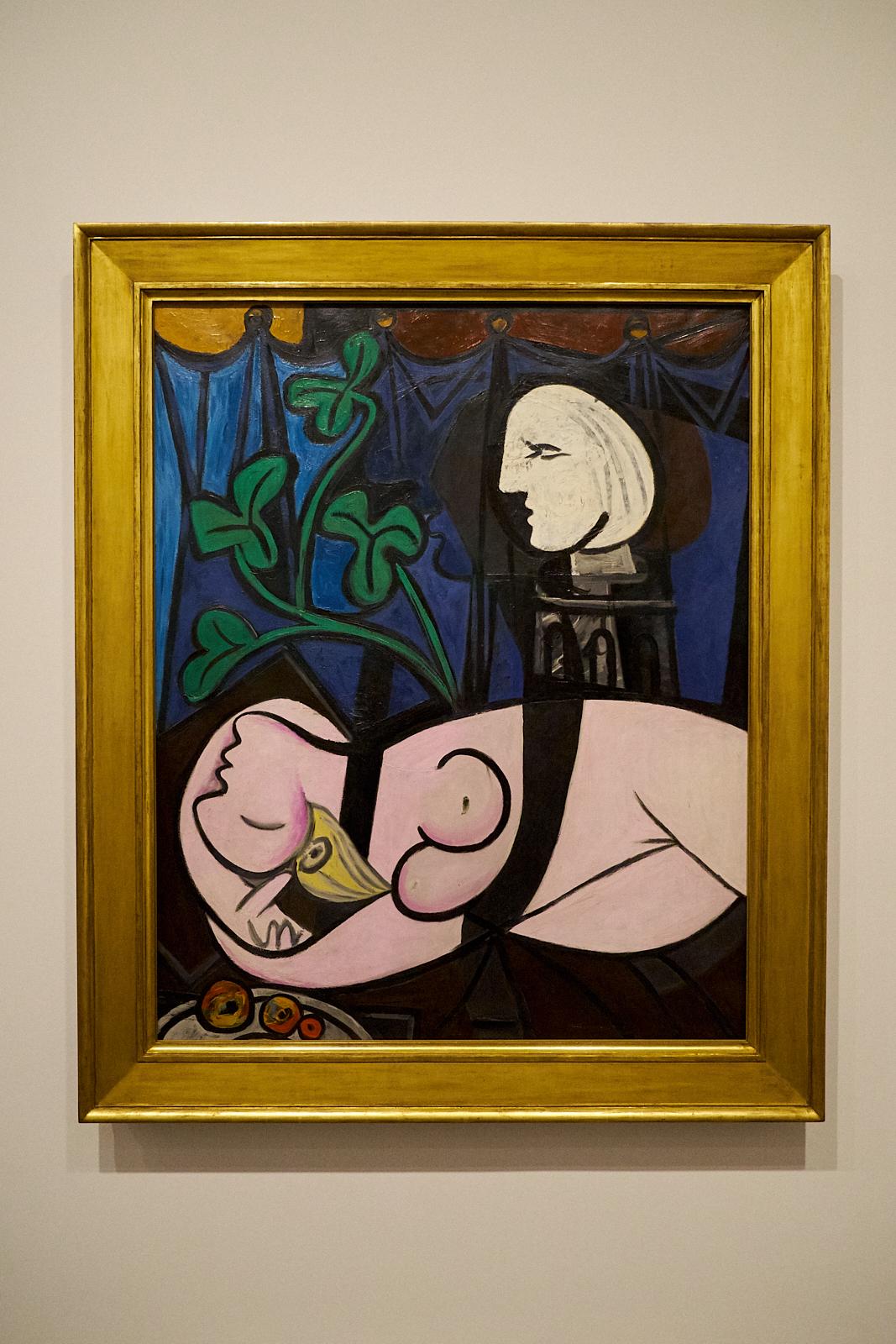 Pablo Picasso —  Femme nue, feuilles et buste , 1932