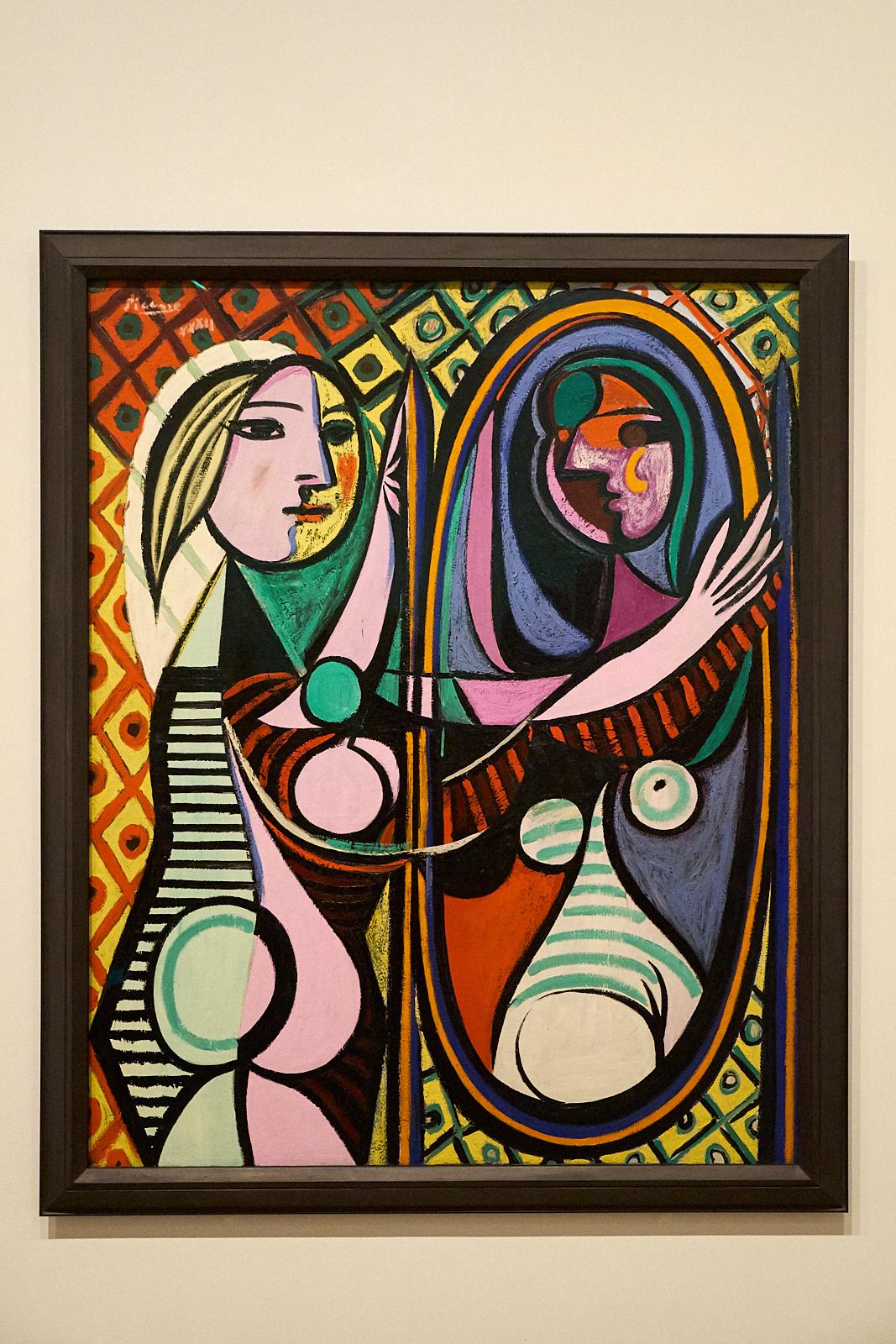 Pablo Picasso — Jeune fille devant un miroir , 1932