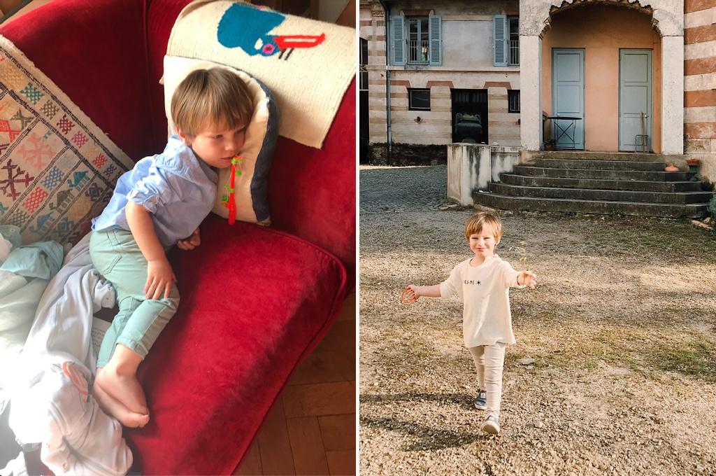 mon fils devant un dessin animé, versus mon fils en pleine action… il y en a une des deux que j'aurai plus de plaisir à retrouver dans quelques années !