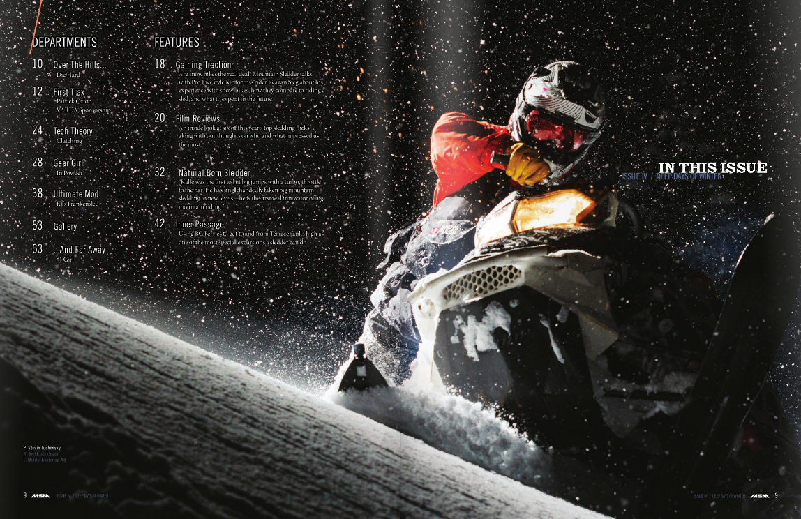 Mountain Sledder Vol. 4 Winter 2014