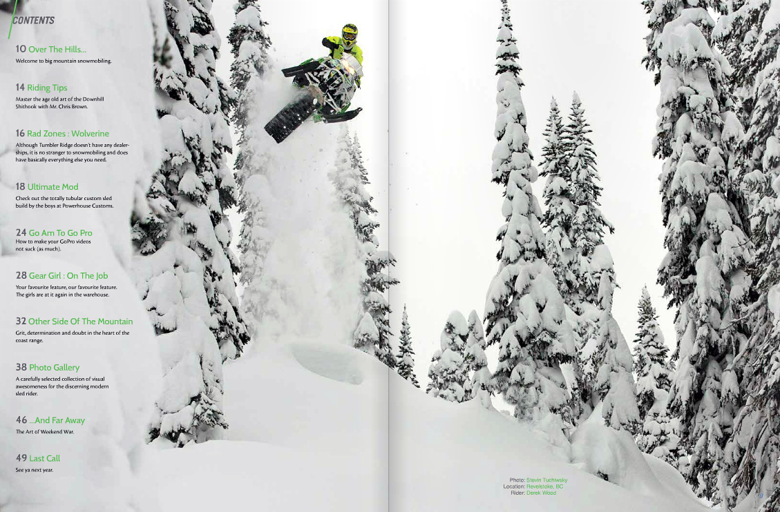 Mountain Sledder Vol. 5 Winter 2014