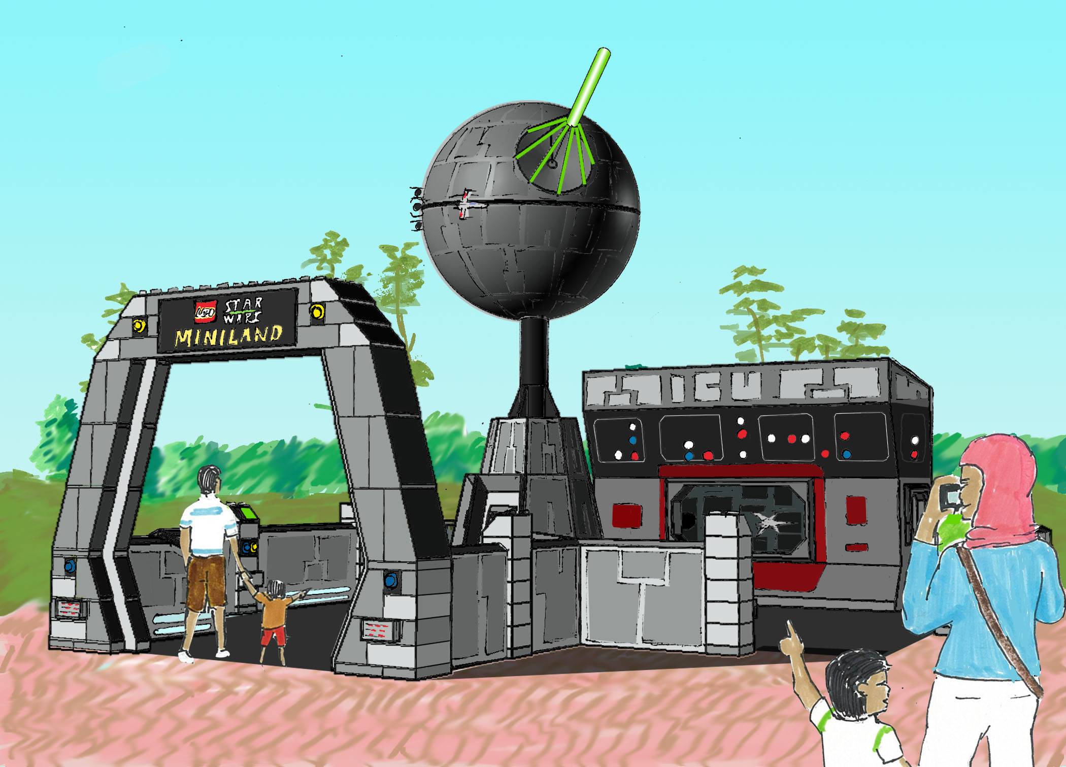 The Death Star - Guest View