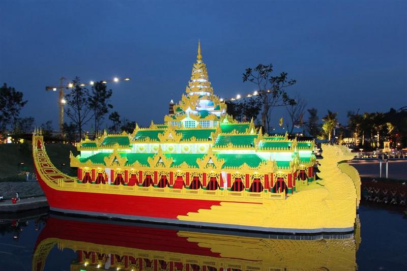 Karaweik Hall, Myanmar