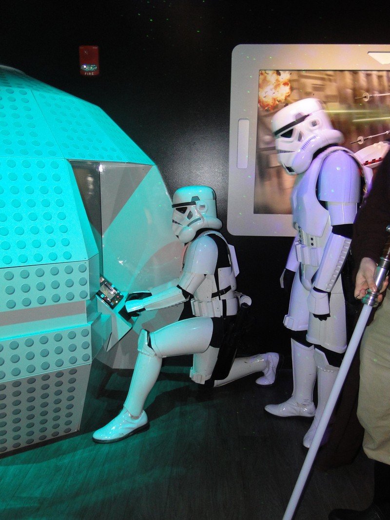 Stormtroopers at play.