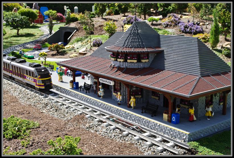 Imagined Train Station