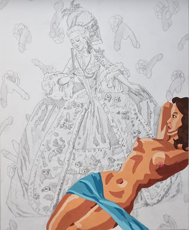 Another sexy drawing to feast your eyes on