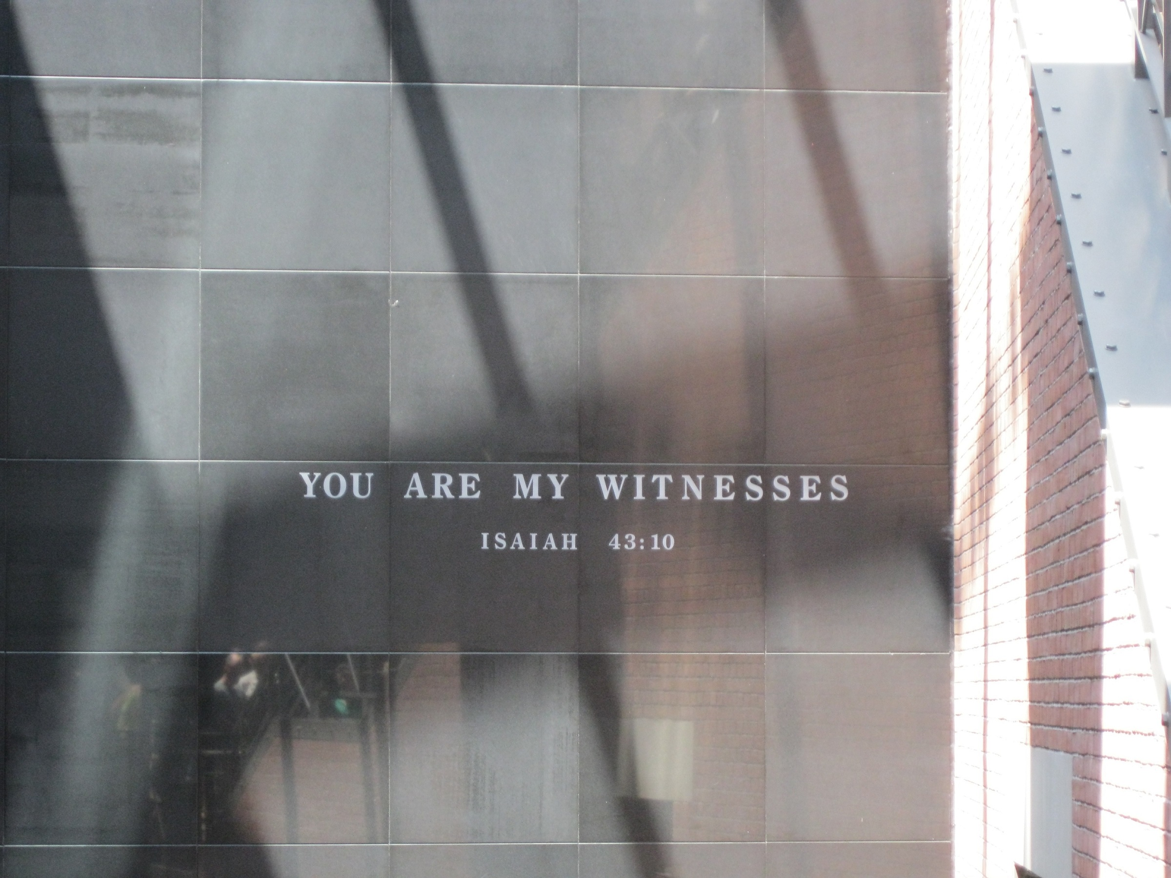 """You are My witnesses."" Isaiah 43:10"