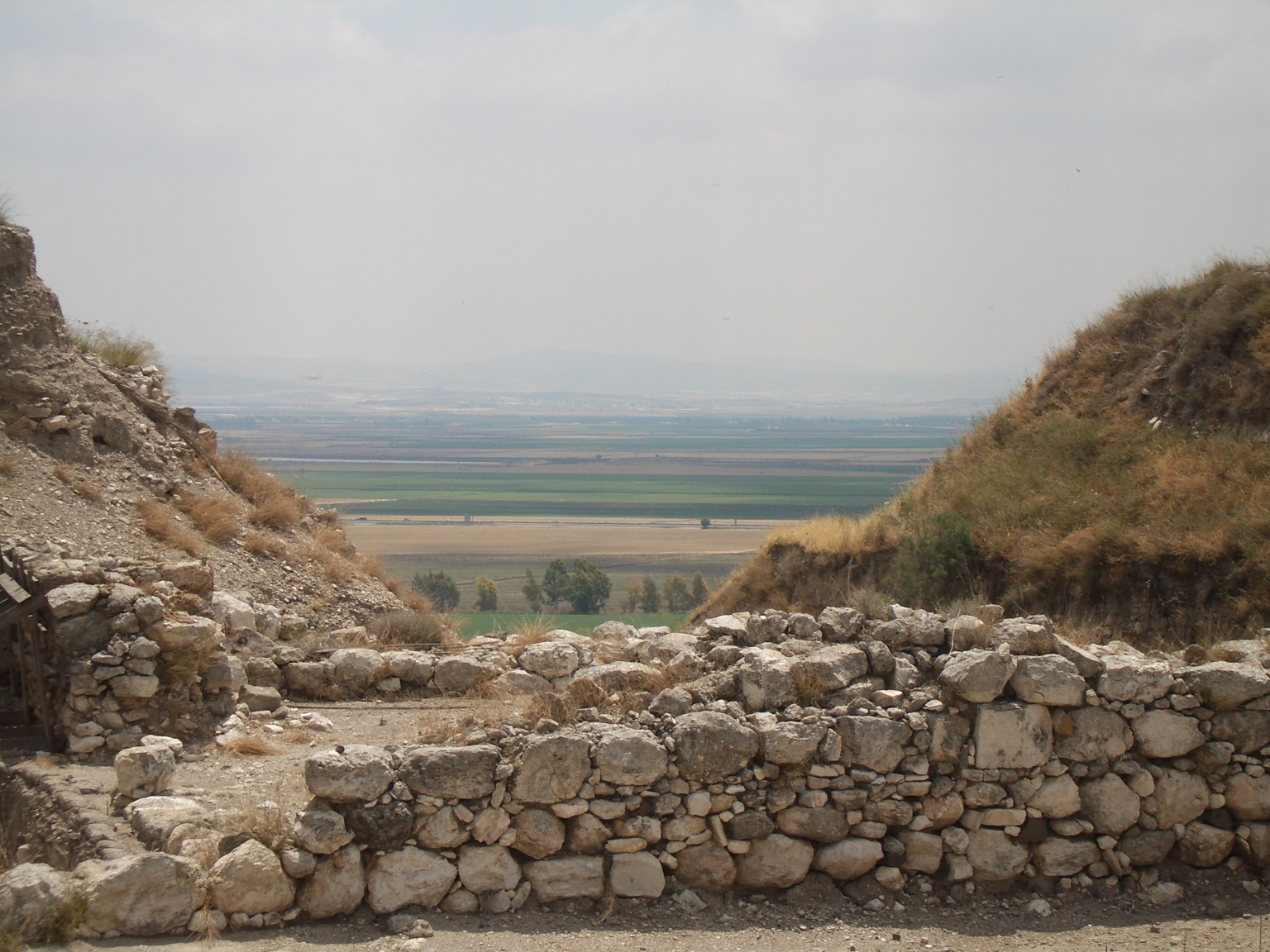 View of valley at Meggido